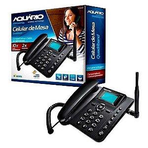 TELEFONE AQUARIO CA40 CELULAR DE MESA RURAL AQUARIO CA-40