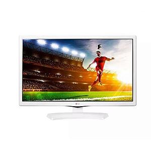TV 24'' MONITOR LED LG BRANCA, HD, MODO CINEMA, GAMING MODE,