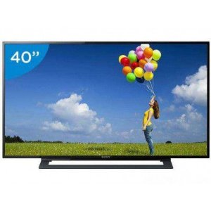 "TV LED 40"" SONY FULL HD KDL-40R355B - CONVERSOR INTEGRADO 2 HDMI 1 USB"