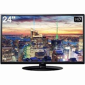 TV LED AOC 24 POLEGADAS USB HDMI CONVERSOR DIGITAL SEM JUROS