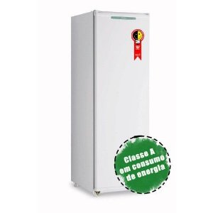 FREEZER VERTICAL CONSUL CVU20GB SLIM 142 LITROS 1 PORTA DEGELO MANUAL BRANCO
