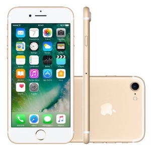 iPhone 7 32GB Ouro Rosa Desbloqueado IOS 10 Wi-fi + 4G Câmera 12MP - Apple