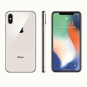 """iPhone X Apple com 256GB, Tela Retina HD de 5,8"""", iOS 11, Dupla Câmera Traseira, Resistente à Água e Reconhecimento Facial"""