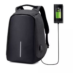 MOCHILA ANTI FURTO ROUBO LAPTOP USB