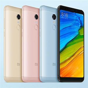 Xiaomi Redmi 5 Plus 64gb Ram 4rom Versão Global 12mp 4g Biometria + Capa transparente