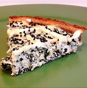 Espinafre com creme de ricota - Torta Fit Olivia Palito - Individual - (200g)
