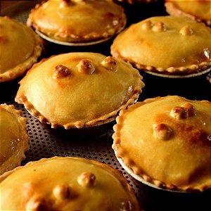 Shitake com queijo estepe - Torta A Preferida - Individual - (200g)