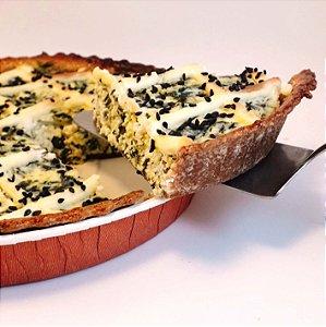 Espinafre com creme de ricota - Torta Integral Olivia Palito - Média - (500g)
