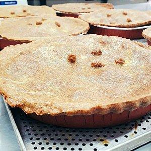 Torta Fit de Palmito com requeijão - Média - (500g)