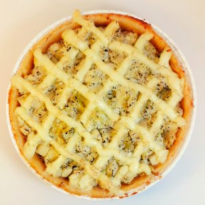 Torta sem glúten - Frango com requeijão (500g)