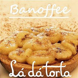 Torta de banana com doce de leite - Banoffe individual
