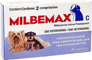 Milbemax Cão até 5Kg