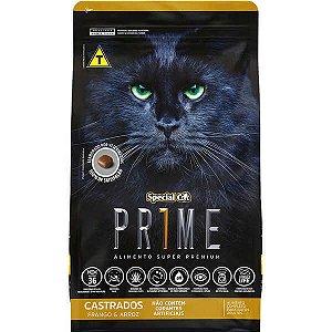 Prime Cat Castrados Frango/Arroz 1Kg