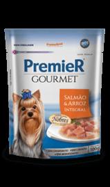Premier Sache Gourmet Cão Adulto Salmão 100g