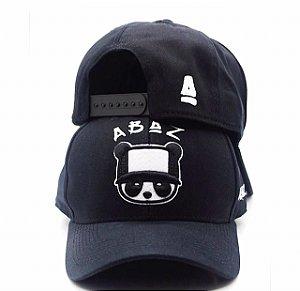 Boné Abaz Aba Curva - Panda ABAZ - Black