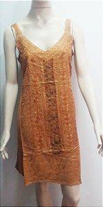 vestido curto estonado de alcinha