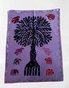 painel decorativo árvore da vida