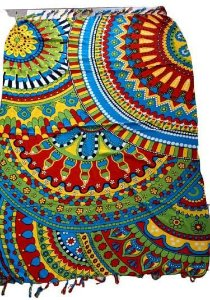 canga colorida