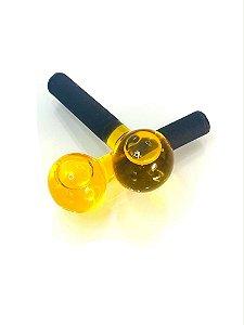 Esfera de vidro - Amarela