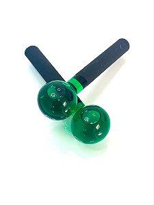 Esfera de vidro - Verde