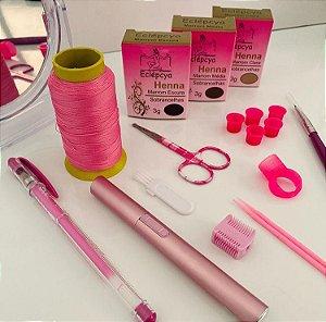 Kit design Rosa com henna 3g Eclépcya