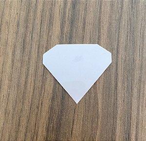 Molde para depilação dos pelos - 10 und (diamante)
