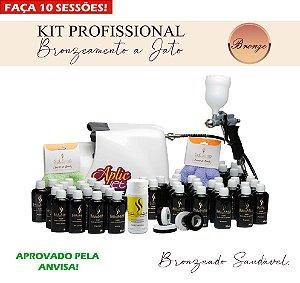 Kit Profissional de Bronzeamento a Jato  (BRONZE)