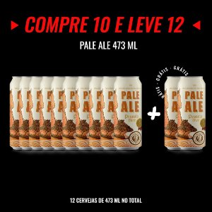 Semana Insana: Compre 10, Leve 12! Pale Ale Lata 473ml