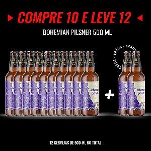 Semana Insana: Compre 10, Leve 12! Bohemian Pilsner Garrafa 500ml