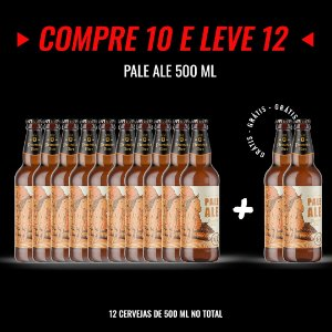 Semana Insana: Compre 10, Leve 12! Pale Ale Garrafa 500ml