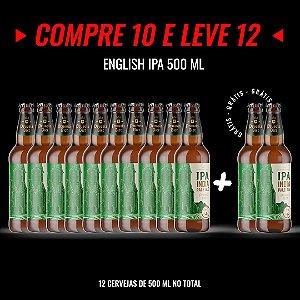 Semana Insana: Compre 10, Leve 12! English IPA Garrafa 500ml