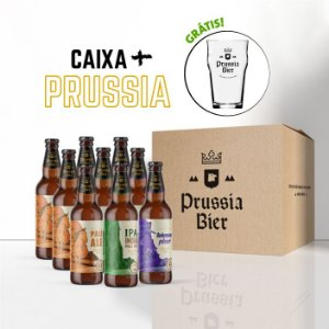 Caixa 9 garrafas + Pint (Grátis!)