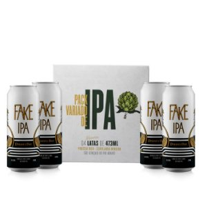 Pack de IPAs - (Quatro Fake IPA) - Session IPA