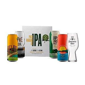 4Pack de IPAs + Copo IPA Glass