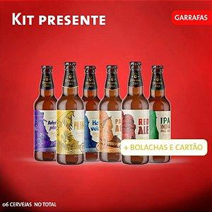 Kit presente: 06 Cervejas de Linha 500ml