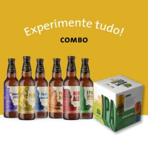 "Combo ""Experimente Tudo!"""