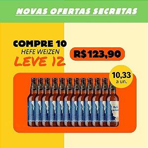 HEFEWEIZEN - Compre 10, Ganhe +2 (Garrafas 500ml)