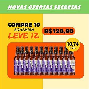 BOHEMIAN PILSNER - Compre 10, Ganhe +2 (Garrafas 500ml)