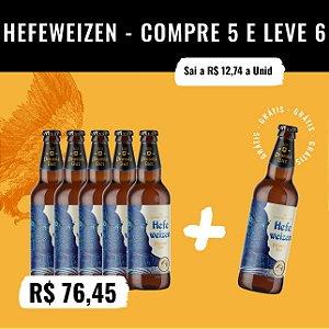 Hefeweizen (Cerveja de Trigo) - Compre 5, Leve 6 (500ml)