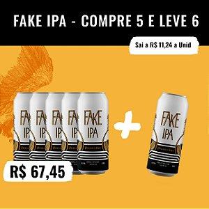 Fake IPA (Session IPA) - Compre 5, Leve 6 (473ml)
