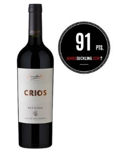 Susana Balbo Crios - Red Blend (Argentina) - 91pts James Suckling