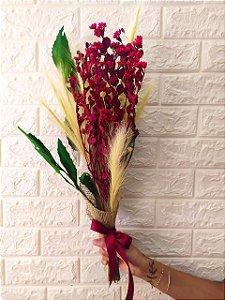 Buquê Mix de Flores Secas (PEÇA ÚNICA) cod 001