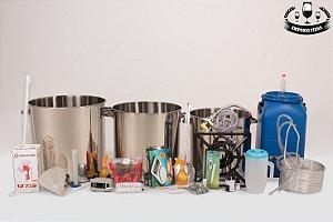 Kit inox 100 litros completo + insumos