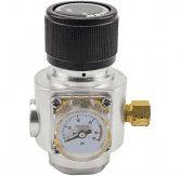 "Mini Reguladora profissional de Co² para cilindro 16/32 rosca 3/8"""