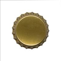 Tampinha Bronze Pry Off 26 mm