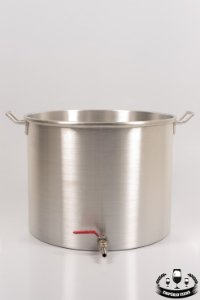 Panela de alumínio 61l com registro