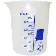 Copo Becker Plástico (1000 ml)