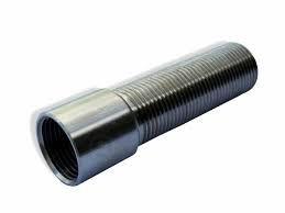 Prolongador de inox para torneira com rosca 5/8 (12cm)