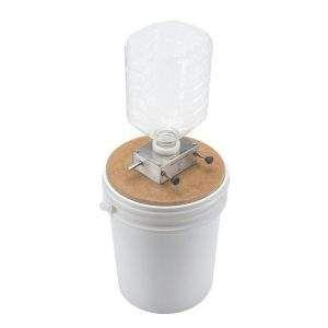 Moinho de rolo c/balde plástico adaptado
