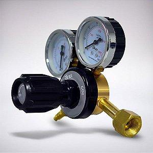 Regulador de Pressão CO2 com manômetro (RC150)